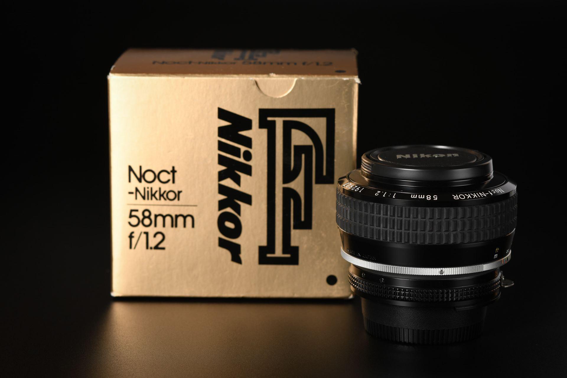 Picture of Nikon Noct-Nikkor 58mm f/1.2 AIS