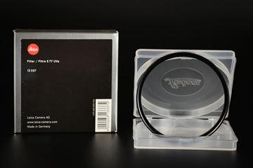 Picture of Leica E77 UVa 77mm Filter Black