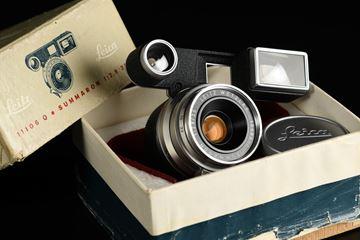 Picture of Leica Summaron-M 35mm f/2.8 Silver goggle for M3