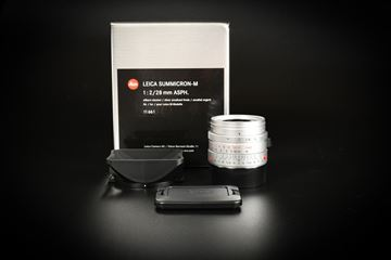 Picture of Leica Summicron-M 28mm f/2 ASPH Ver.1 Silver