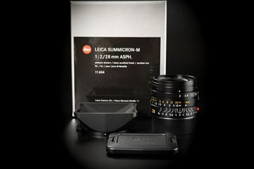 Picture of Leica Summicron-M 28mm f/2 ASPH Ver.1 Black