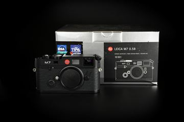 Picture of Leica M7 0.58 Black Chrome