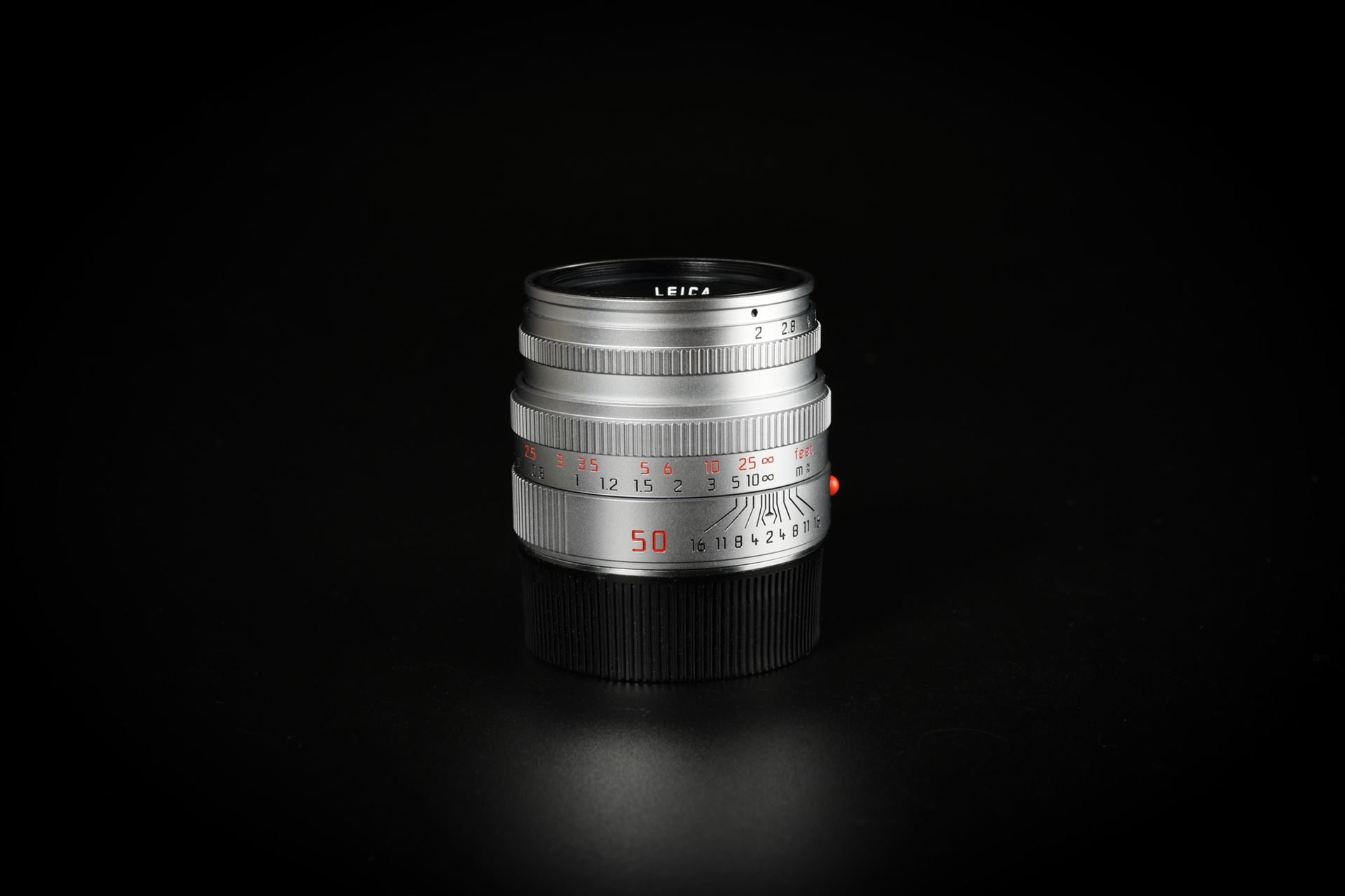 Picture of Leica Summicron-M 50mm f/2 Ver.5 Pre-ASPH Silver