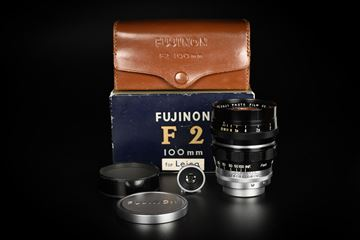 Picture of Fujinon 10cm 100mm f/2 Original Leica Screw Mount LTM L39