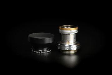 Picture of Leica Summar 5cm f/2 Silver Black Rim Screw LTM