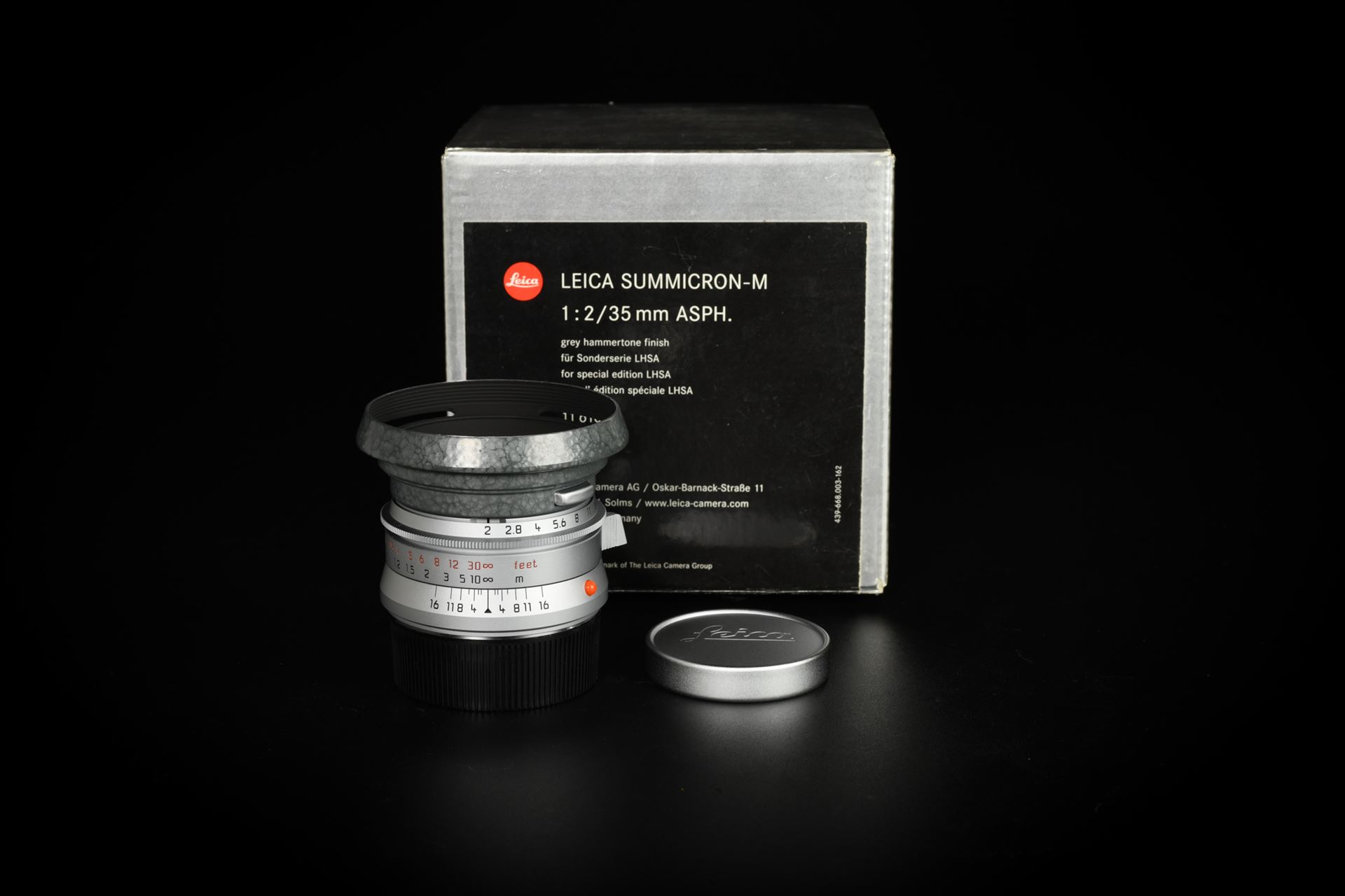 Picture of Leica Summicron-M 35mm f/2 ASPH Hammertone