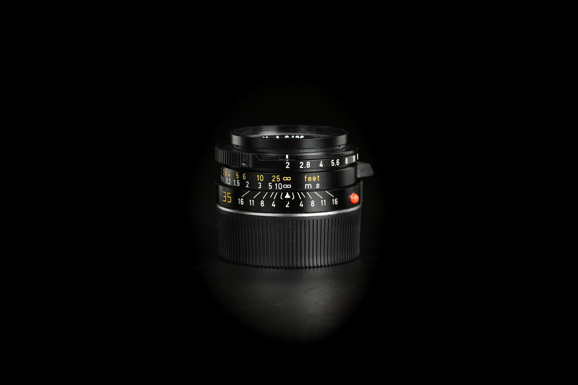 Picture of Leica Summicron-M 35mm f/2 Ver.4 Black 7-element Tiger Claw