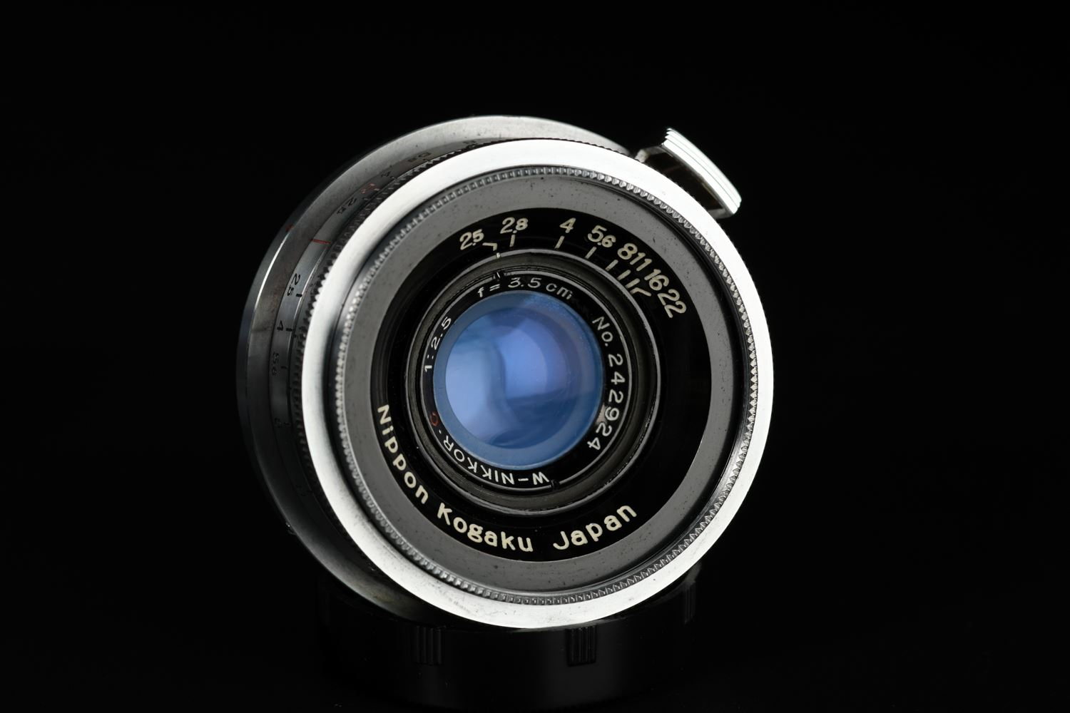 Picture of Nikon S2 Silver with W-Nikkor.C 35mm f/2.5