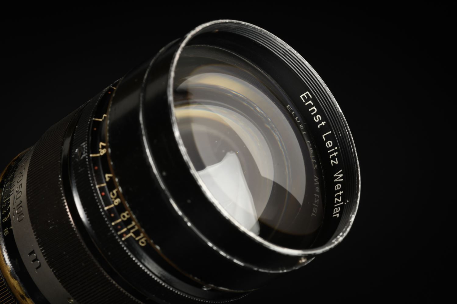 Picture of Leica Summarex 8.5cm f/1.5 Black Paint Screw LTM
