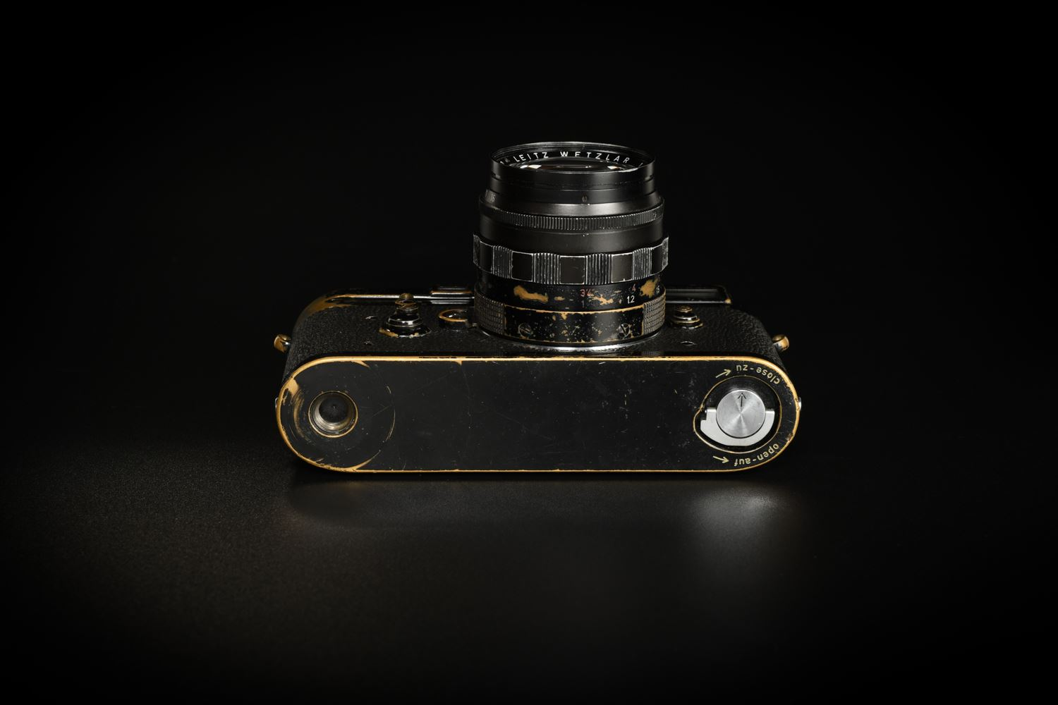 Picture of Leica M3 Original Black Paint with Summilux-M 50mm f/1.4 Ver.1 Black Paint Set