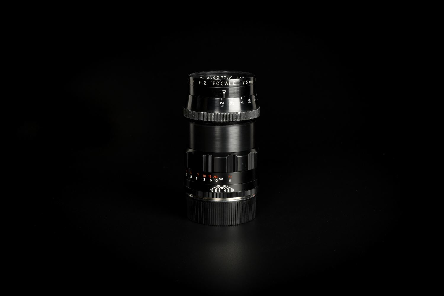 Picture of Kinoptik Apochromat Focale 75mm f/2 Modified To Leica M