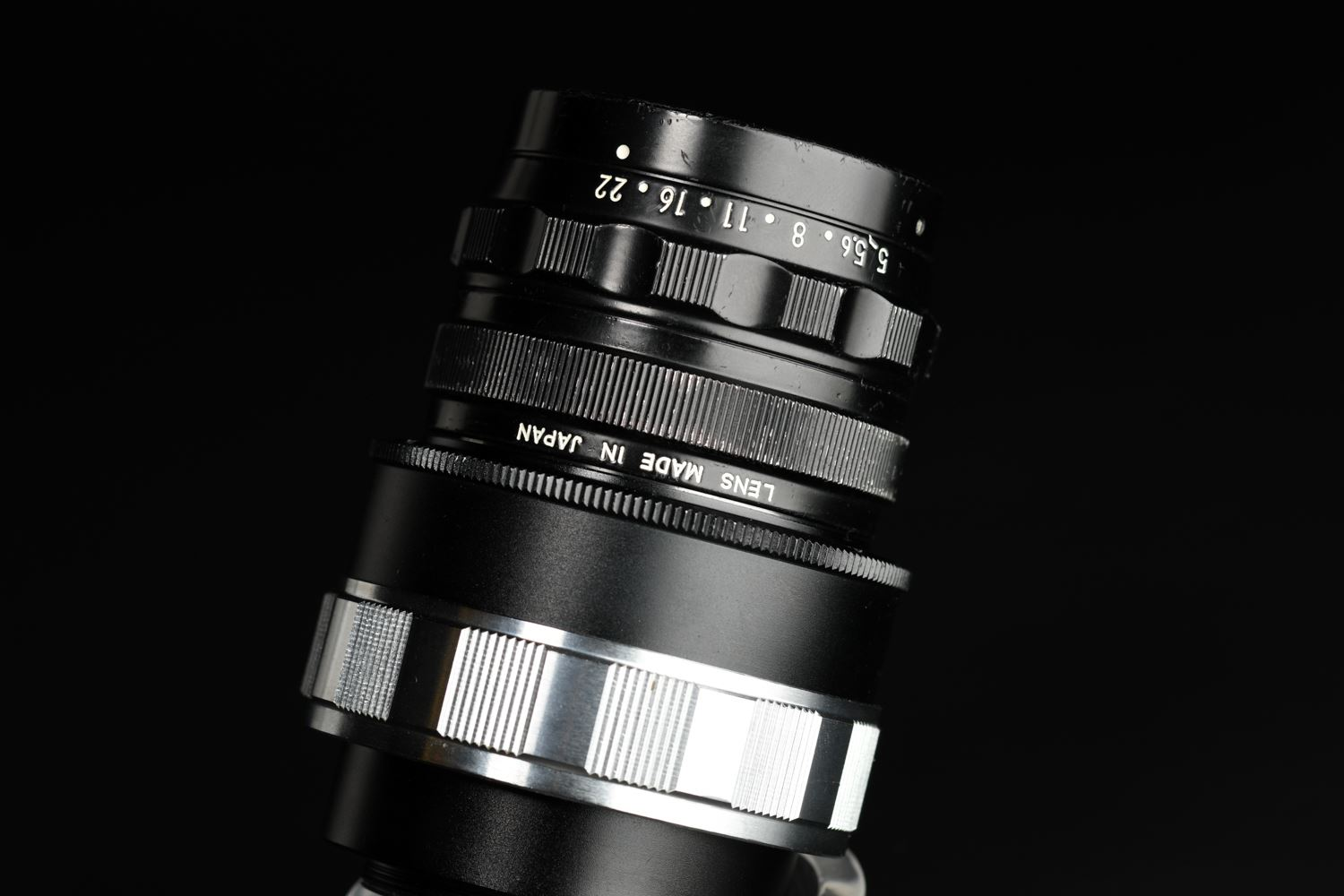 Picture of Nikon Micro-Nikkor 70mm f/5 Modified To Leica Screw LTM