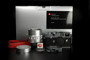 "Picture of Leica M-A ""Leica Shop Vienna"" 25 Jahre Hammertone with Noctilux-M 50mm f/0.95 Set"