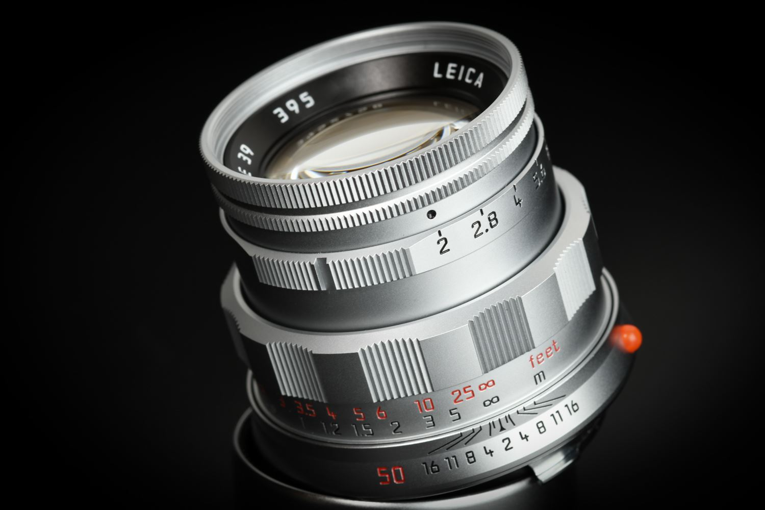 "Picture of Leica Summicron-M 50mm f/2 ""50 Jahre"" Silver"