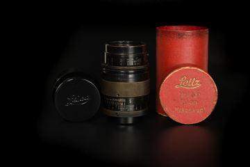 Picture of Leica Hektor 7.3cm f/1.9 Black/Nickel LTM Screw