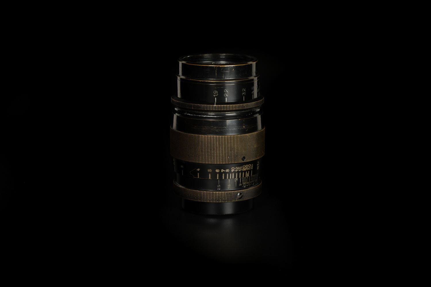 Picture of Leica Hektor 7.3cm f/1.9 Black/Nickel LTM Screw