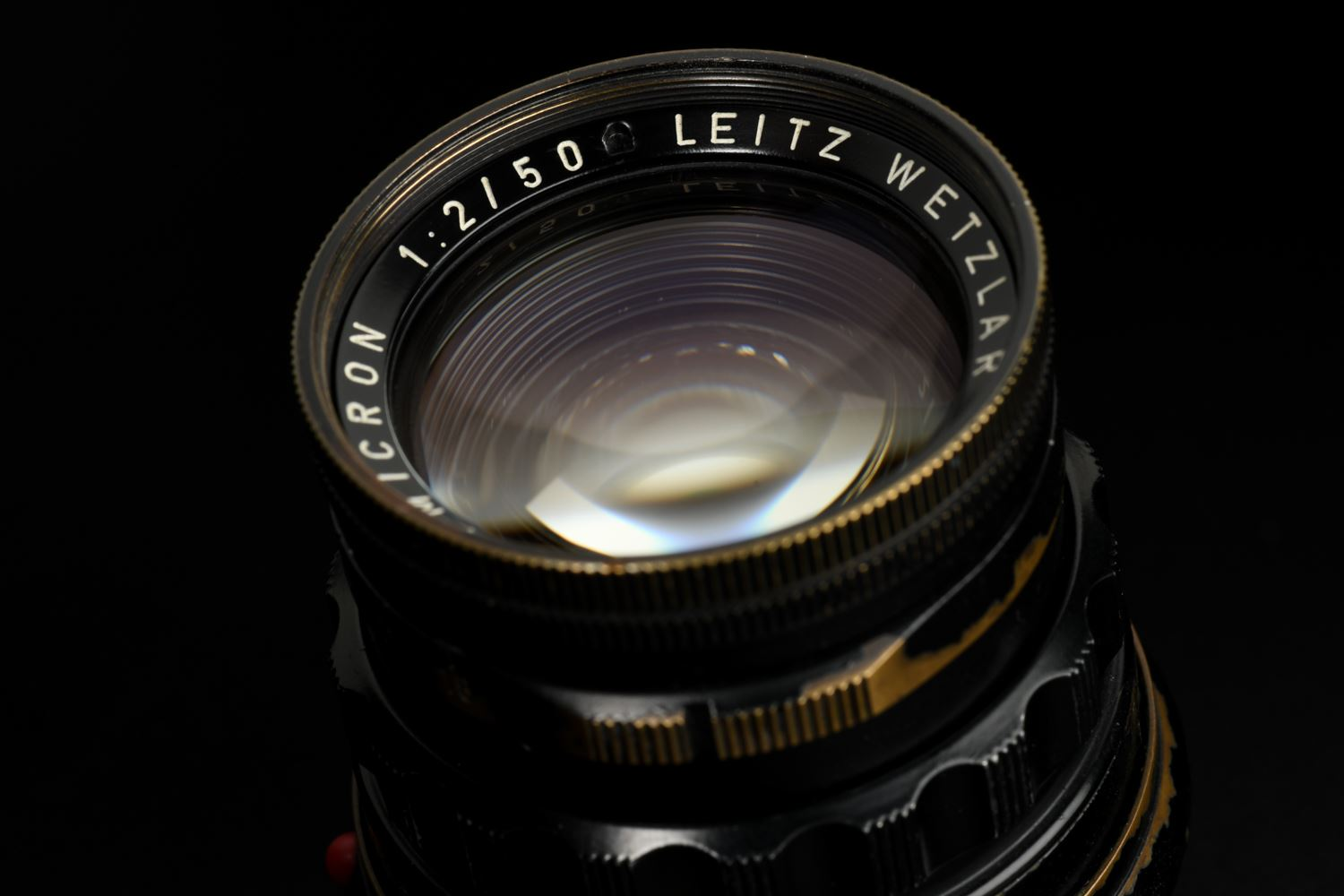 Picture of Leica Summicron-M 5cm f/2 Rigid Ver.1 Black Paint