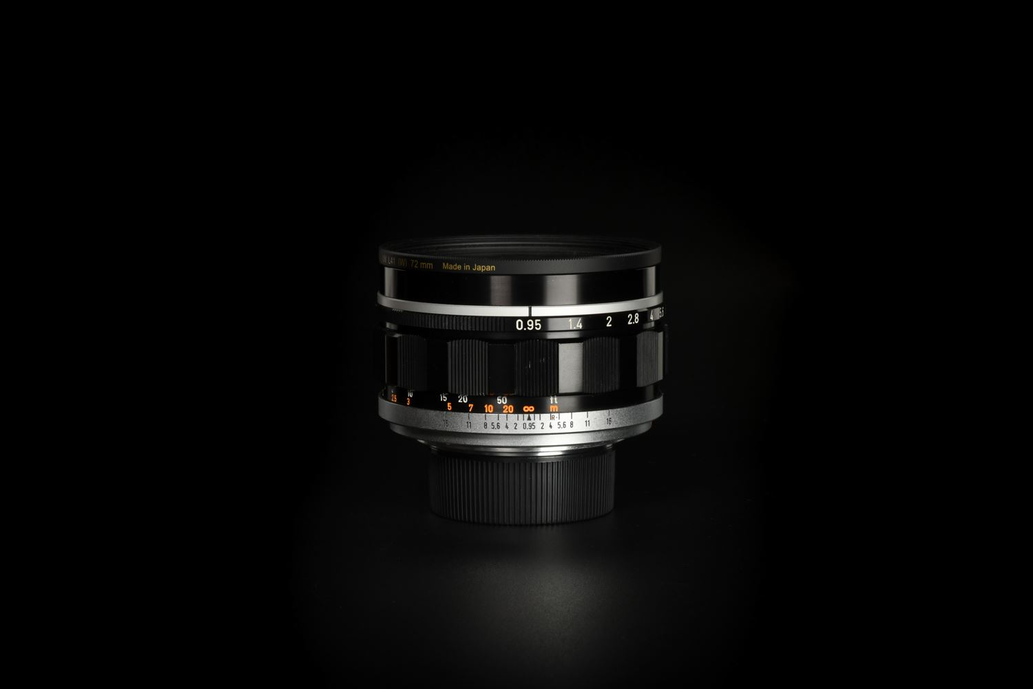 Picture of Canon 50mm f/0.95 Modified to Leica M