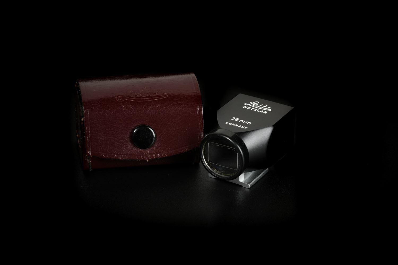 Picture of Leica 28mm SLOOZ Black Metal Viewfinder