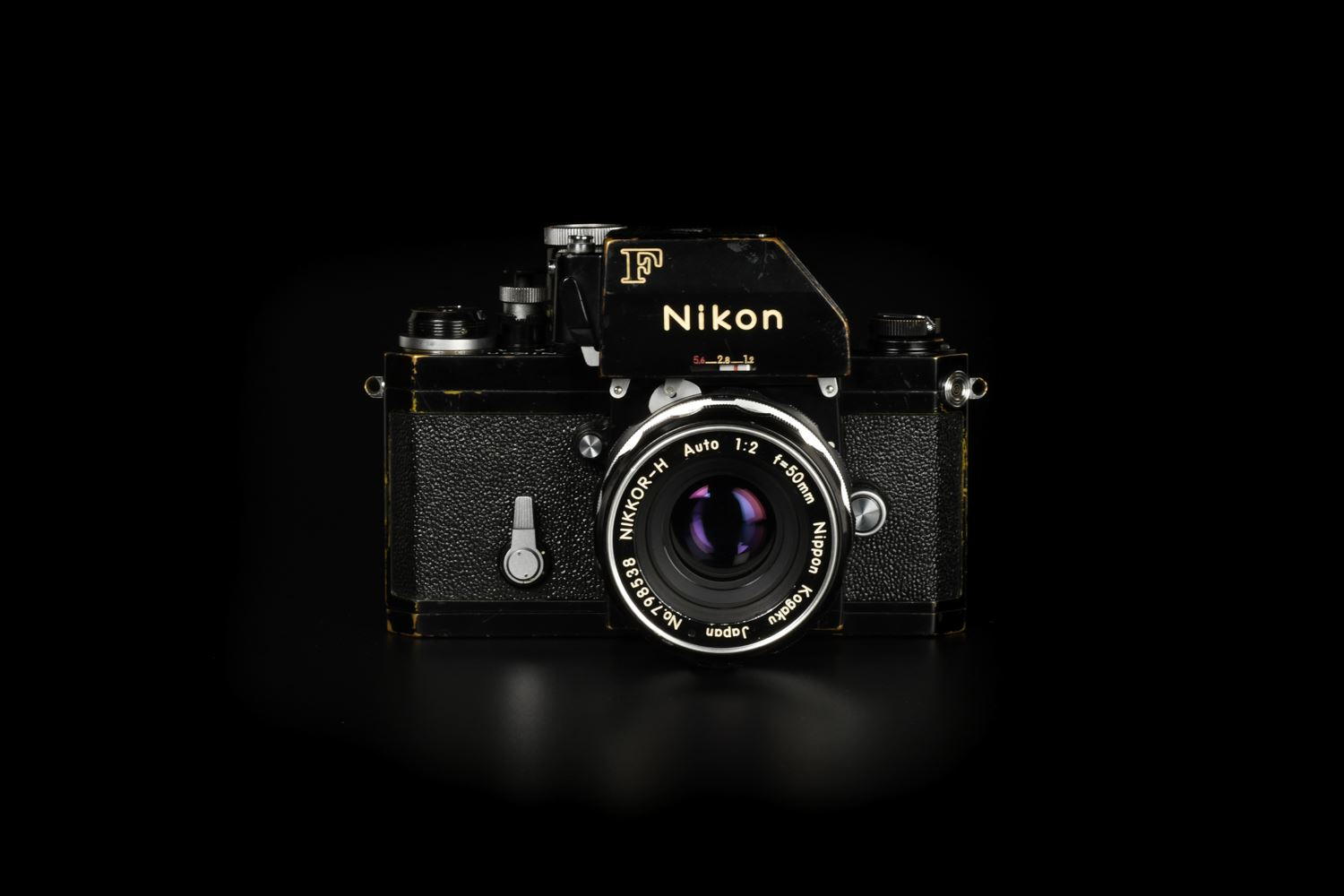 Picture of Nikon F KE-48C Military with Nikkor-H 50mm f/2