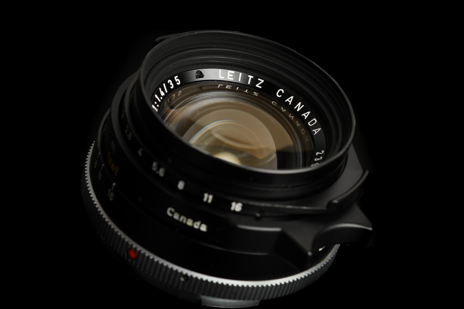 Picture of Leica Summilux-M 35mm f/1.4 Ver.2 Pre-ASPH Canada