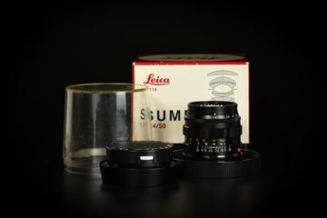 Picture of Leica Summilux-M 50mm f/1.4 Ver.2 Transitional Black Paint