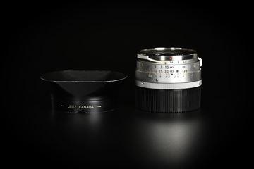 Picture of Leica Summilux-M 35mm f/1.4 Ver.1 Steel Rim Silver M2