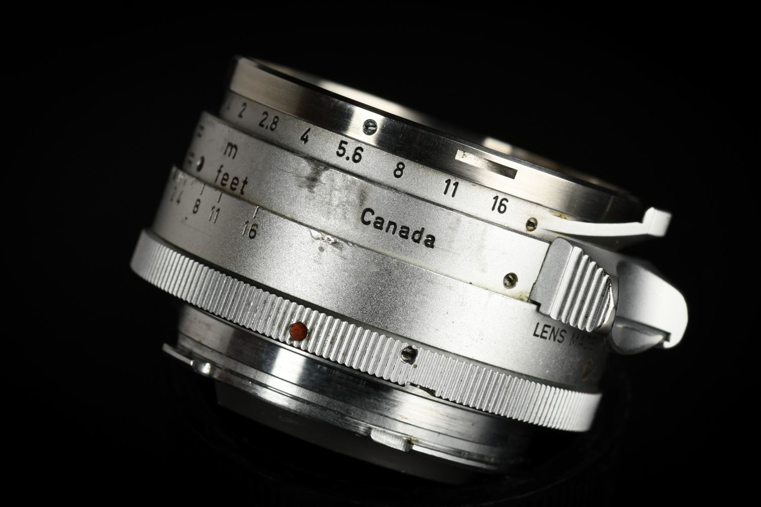 Picture of Leica Summilux-M 35mm f/1.4 Ver.1 Steel Rim Silver M2