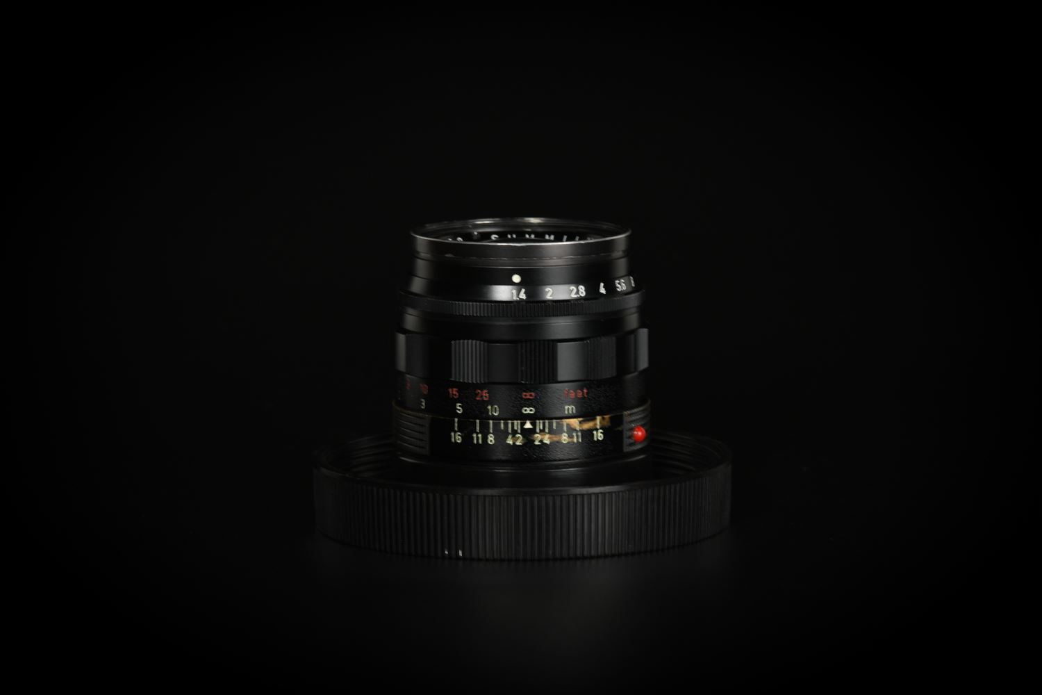 Picture of Leica Summilux-M 50mm f/1.4 Ver.2 E43 Black Paint