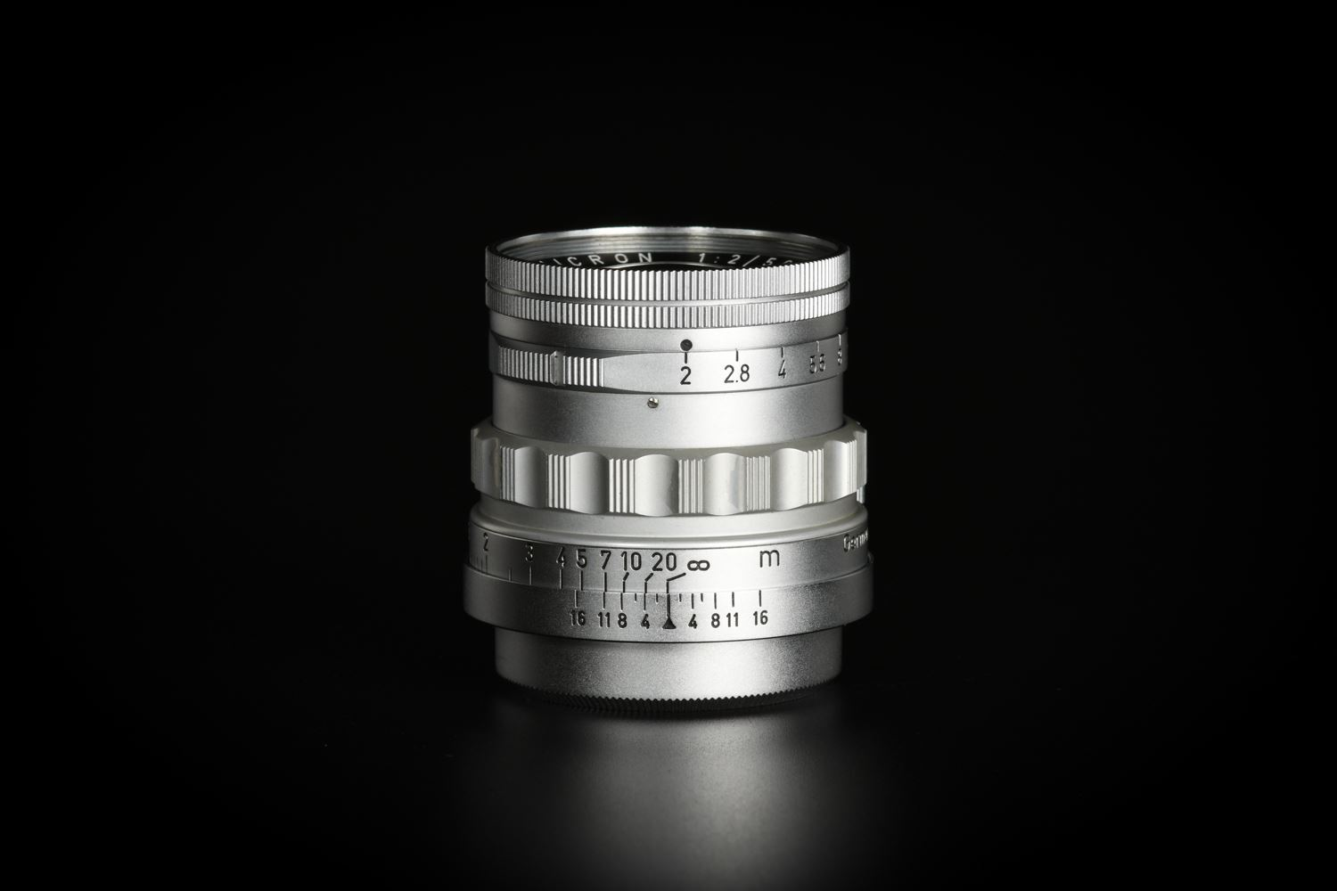 Picture of Leica Summicron 50mm f/2 Rigid Ver.1 Silver Screw LTM