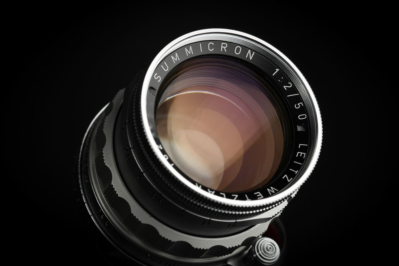 Picture of Leica Summicron 50mm f/2 Rigid Ver.1 Silver Screw LTM