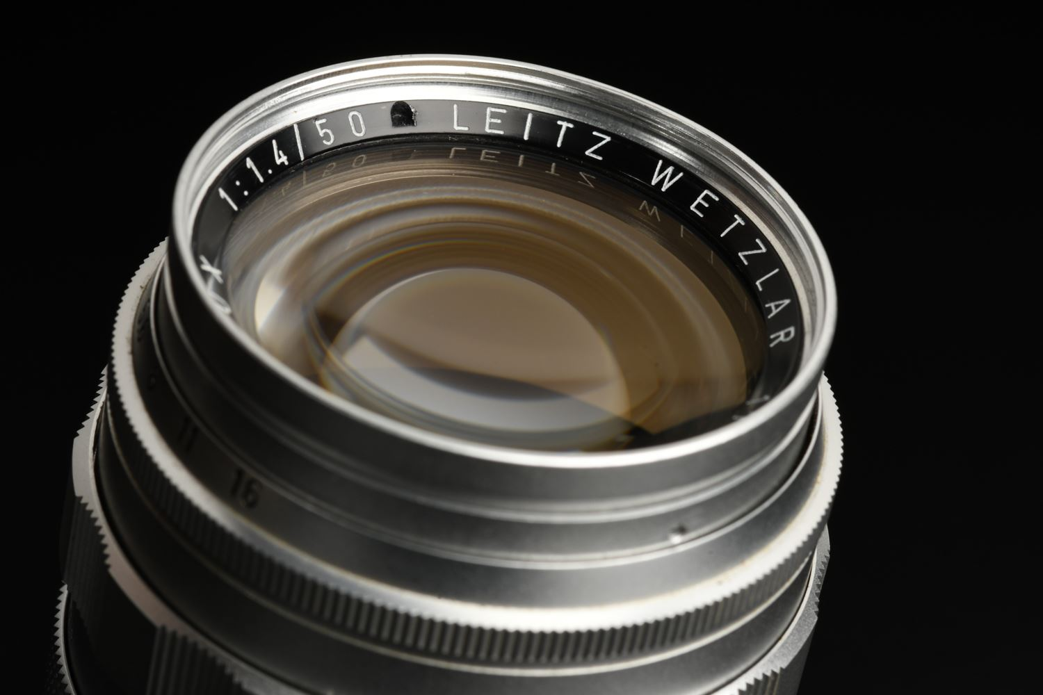 Picture of Leica Summilux-M 50mm f/1.4 Ver.1 E43 Silver Screw LTM