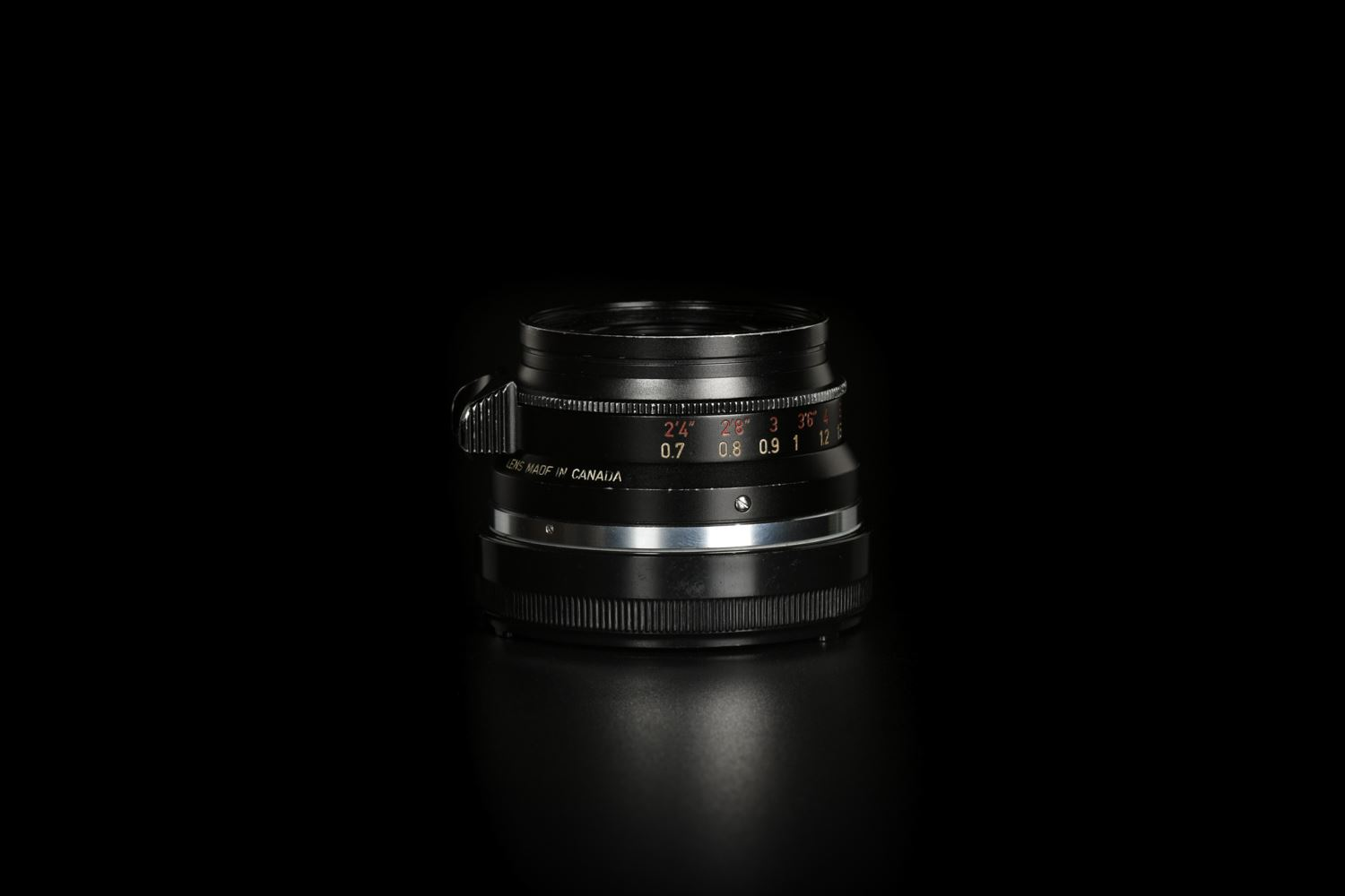 Picture of Leica Summicron-M 35mm f/2 Ver.1 8-element Canada Black Paint M2