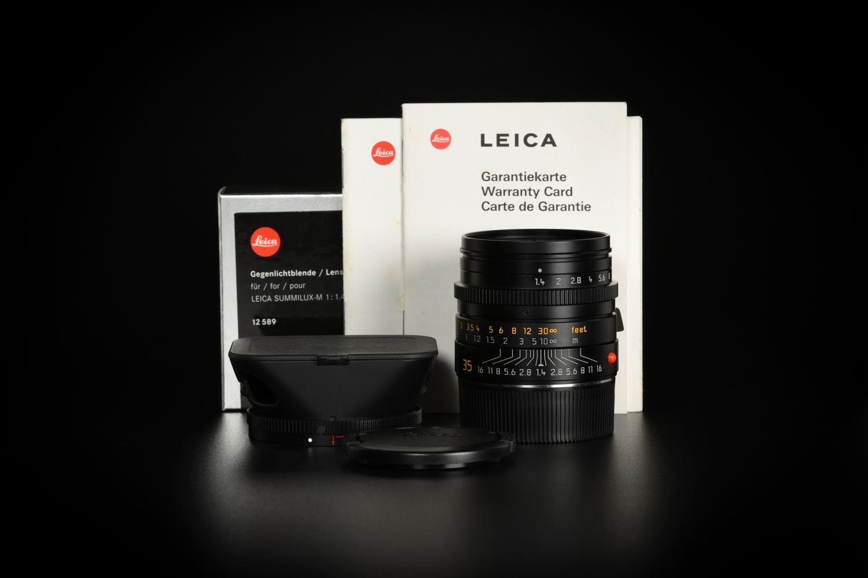 Picture of Leica Summilux-M 35mm f/1.4 ASPH Ver.1 Ein Stück