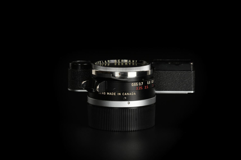 Picture of Leica Summilux-M 35mm f/1.4 Ver.1 Steel Rim Black Paint M3