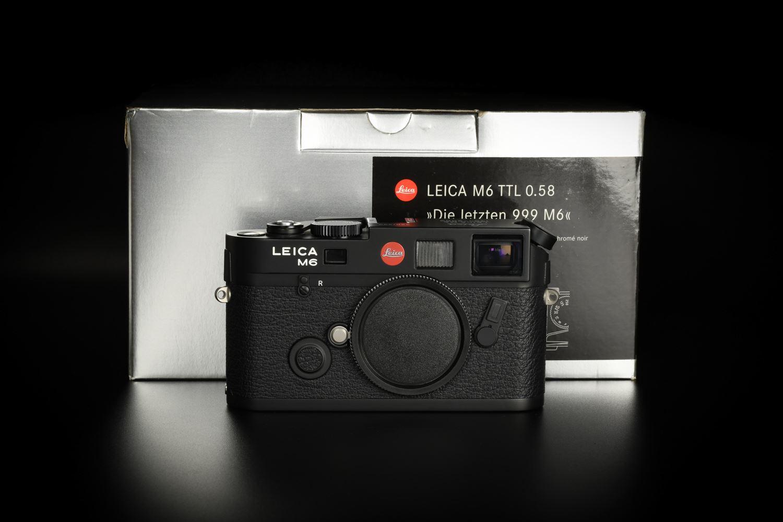 """Picture of Leica M6 TTL 0.58 """"Die letzten 999 M6"""" (10542)"""