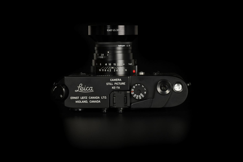 f22cameras | Leica KE-7A M4 Military Set with Elcan 50mm f/2