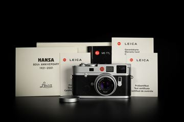 "Picture of Leica M6 TTL 0.72 Silver Chrome ""HANSA"""