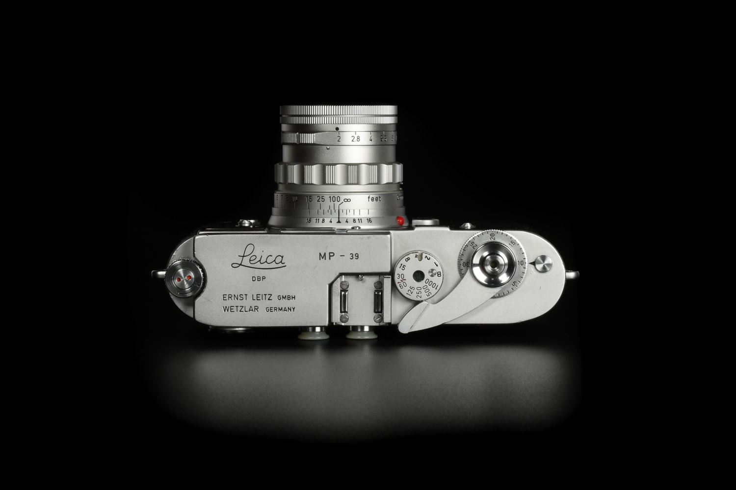 Picture of Leica MP Original Silver MP-39X