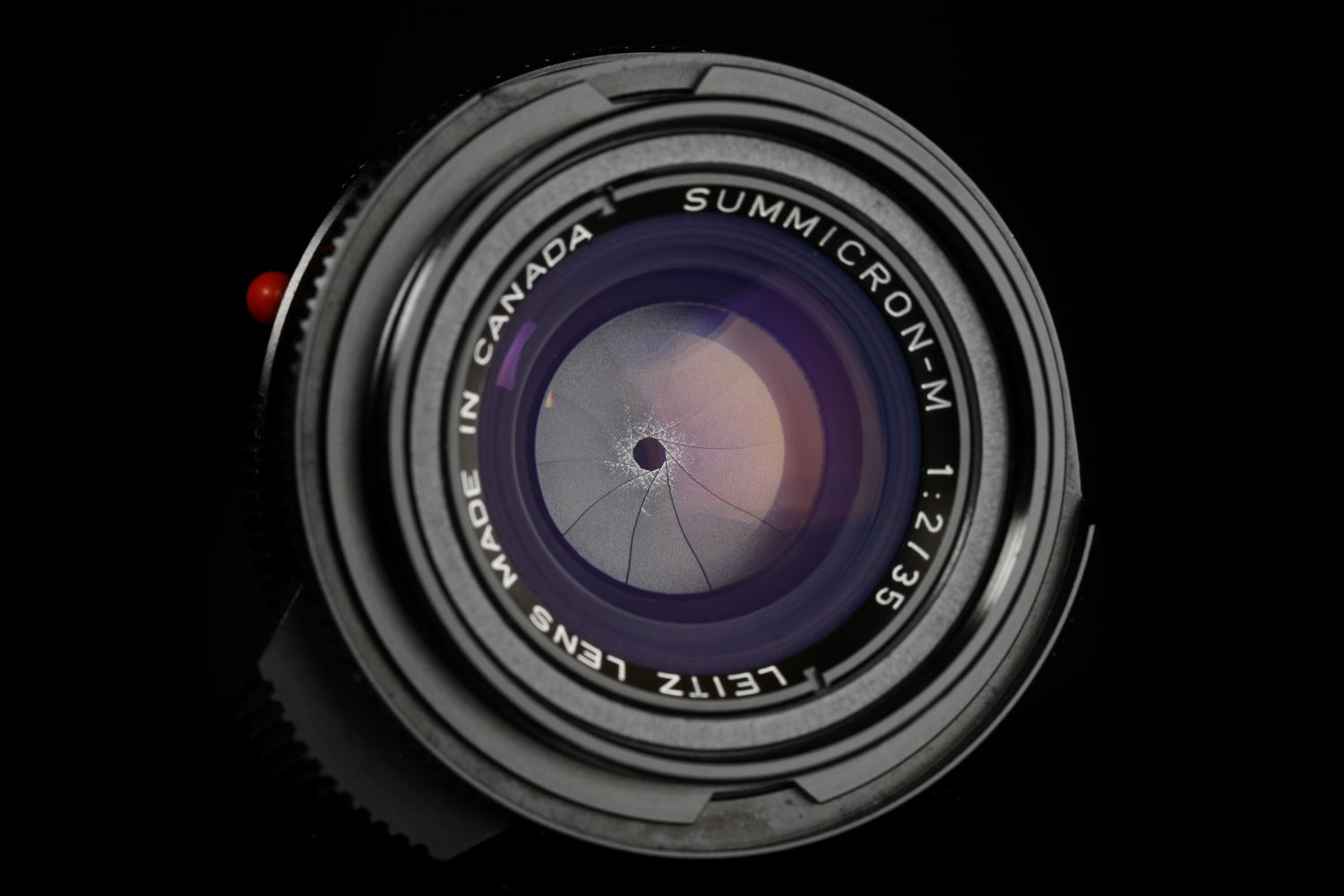 Picture of Leica Summicron-M 35mm f/2 Ver.4 7-element Black Canada Tiger Claw