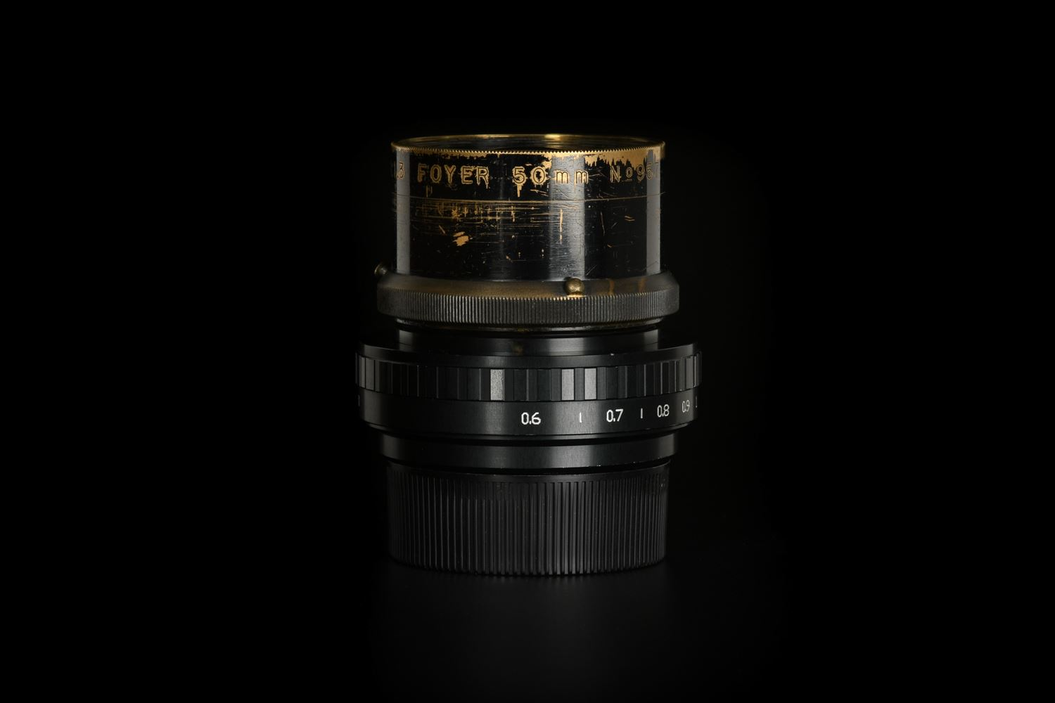 Picture of Kinoptik Fulgior Foyer 50mm f/1.3 mod. to Leica M, Very Early Version