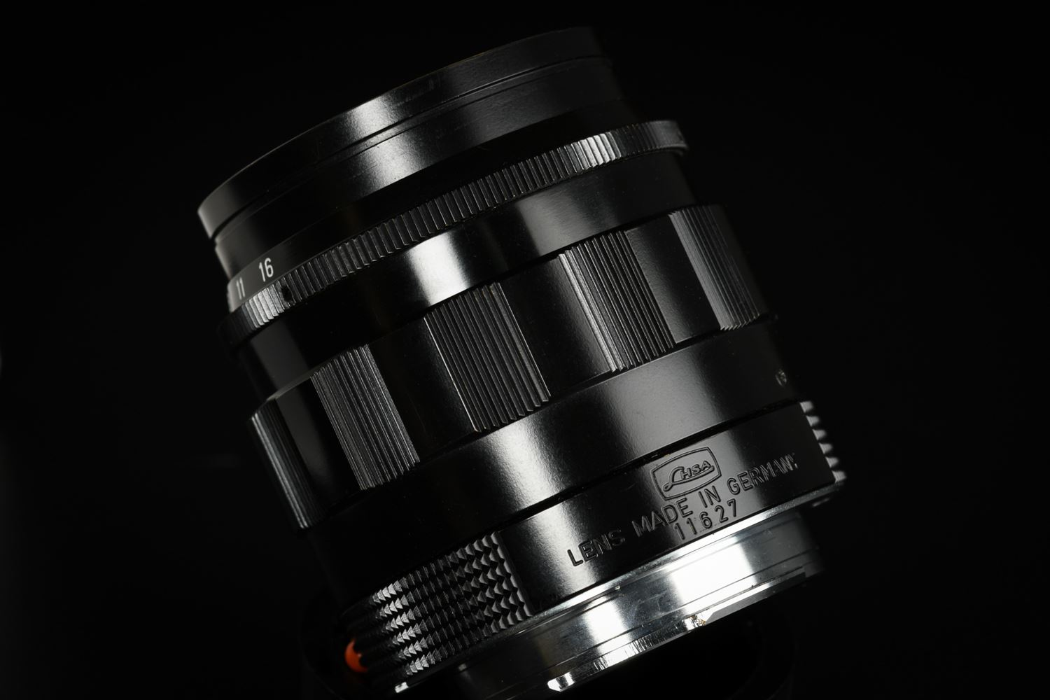 Picture of Leica Summilux-M 50mm f/1.4 ASPH Black Paint LHSA MP3