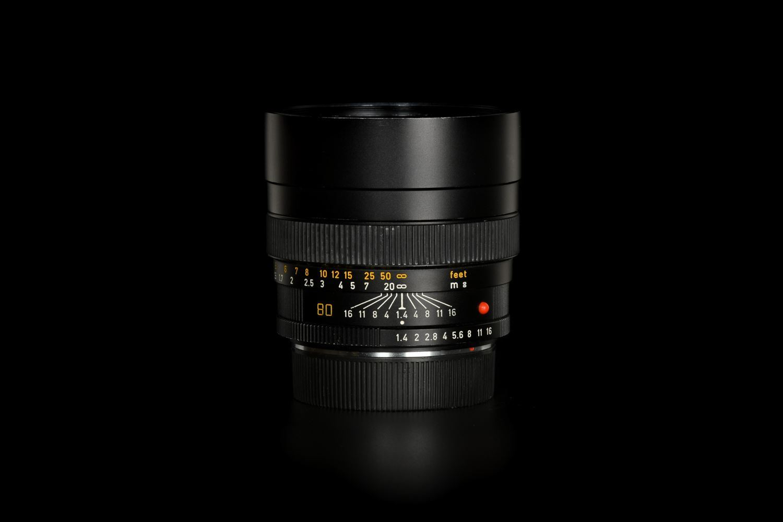 "Picture of Leica Summilux-R 80mm f/1.4 3-CAM ""PRESS '84"""