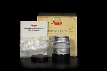 Picture of Leica Summilux-M 50mm f/1.4 Ver.2 Traveller Version