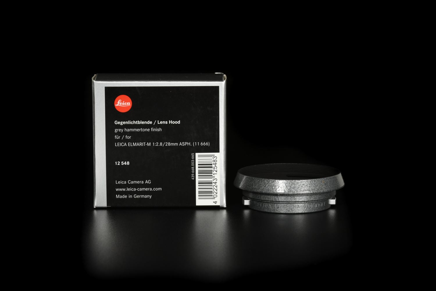 Picture of Leica 12548 Hammertone Lens Hood