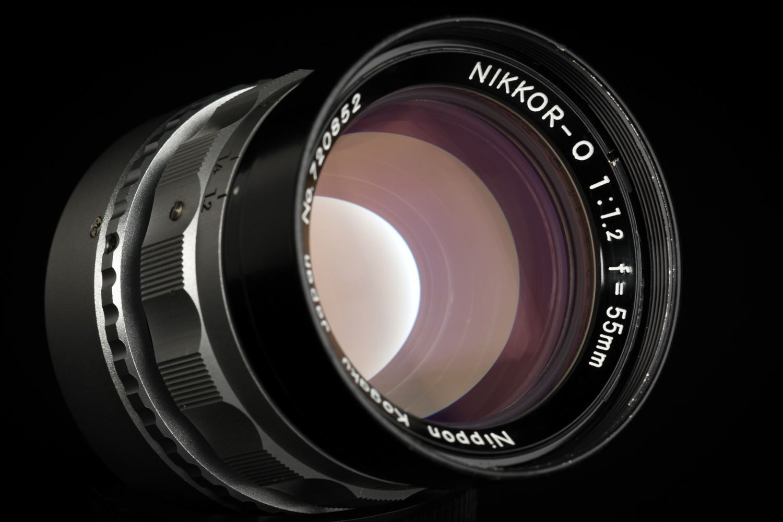 Picture of Nikon Nippon Kogaku Nikkor-O 55mm f/1.2 Mod. To Leica M