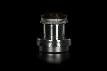 Picture of Leica Summar 5cm f/2 Silver Chrome Black Rim LTM