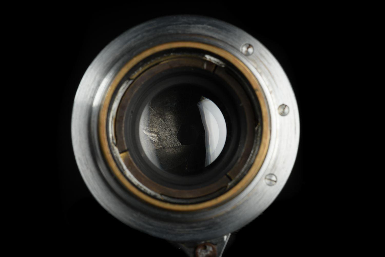 Picture of Leica Summar 5cm f/2 Silver Chrome Black Rim LTM