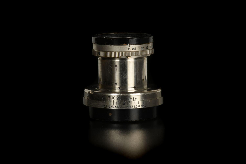 Picture of Leica Summar 5cm f/2 Nickel Black Rim LTM