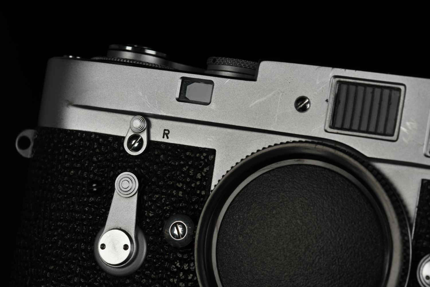 Picture of Leica M2 KS15-4 Silver Vietnam War US Army Silver